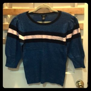 New! Blue and Pink stripe sweater